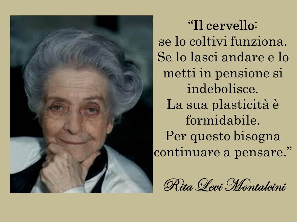 Your Living Coaching Rita Levi Montalcini Citazione